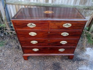 Early Georgian.  Chest Of Drawers.  C1740 - 1750. photo
