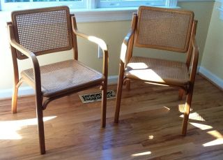 Bentwood/breuer/eames Type Chairs photo