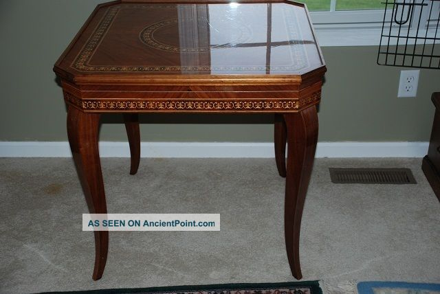 Italian Made Game Table 1974 Post-1950 photo