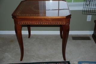 Italian Made Game Table 1974 photo