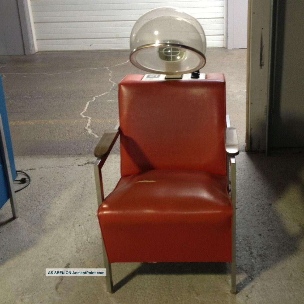 Vintage Salon Hair Dryer Chair images