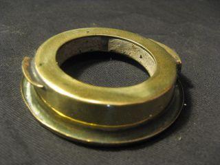 Bayonet Fit Duplex Collar For An Oil Lamp. photo