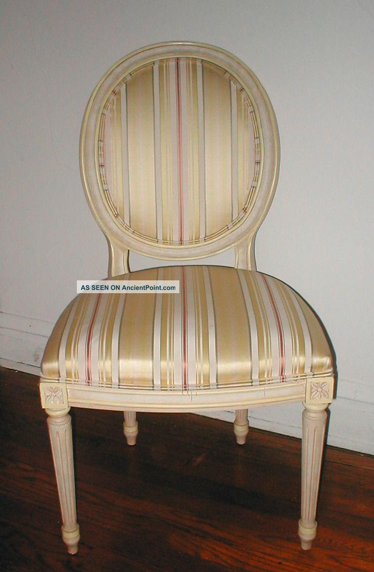Set Of 4 Mid - Century Upholstered Accent Chairs.  Kendel 1977,  3 Side & 1 Arm Post-1950 photo