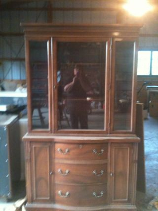 Antique China Cabinet Pick Up Only Dayton,  Ohio photo