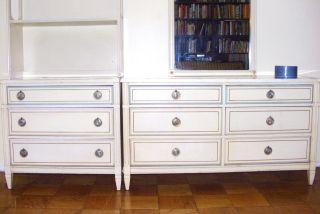 French Style Bassett Children Furniture,  Dresser,  Mirror,  Bookshalve. photo