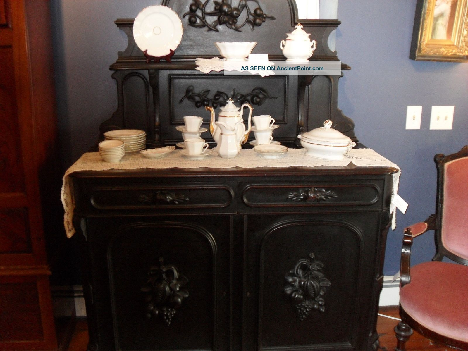 Antique Victorian Sideboard 1800-1899 photo