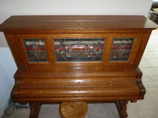 Antique Player Piano photo