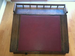 Vintage Train Station Secretary Desk (circa 1880 ' S) photo