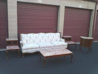Southern Furniture Co.  Formal Living Room Sofa And Side Tables photo