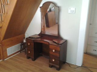 Antique Cedar Vanity - 1936 - Reduced photo