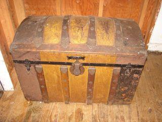 Antique Steamer Trunk photo