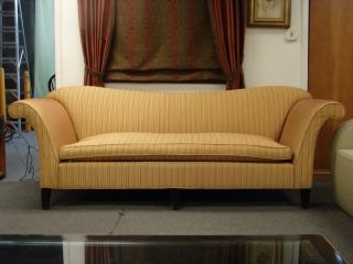 Mid Century Modern Sofa With Down Cushion photo