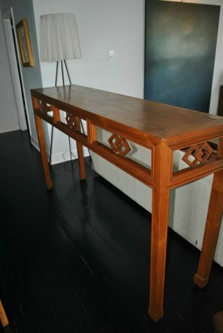 Antique Chinese Altar Table photo