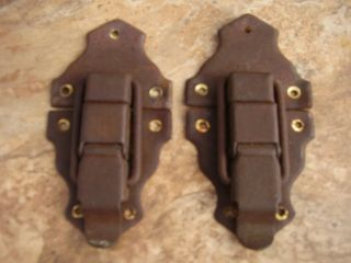 Antique Steamer Trunk Parts,  Hardware - Latches photo