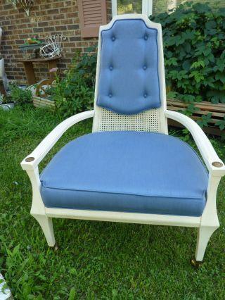 Vintage Hollywood Regency Mid Century Chair photo