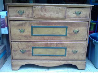 Antique Maple Server - Gorgeous Design - Made Very Well - Awesome For The Money photo