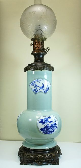 Exceptionnal Oil Parafin Lamp photo