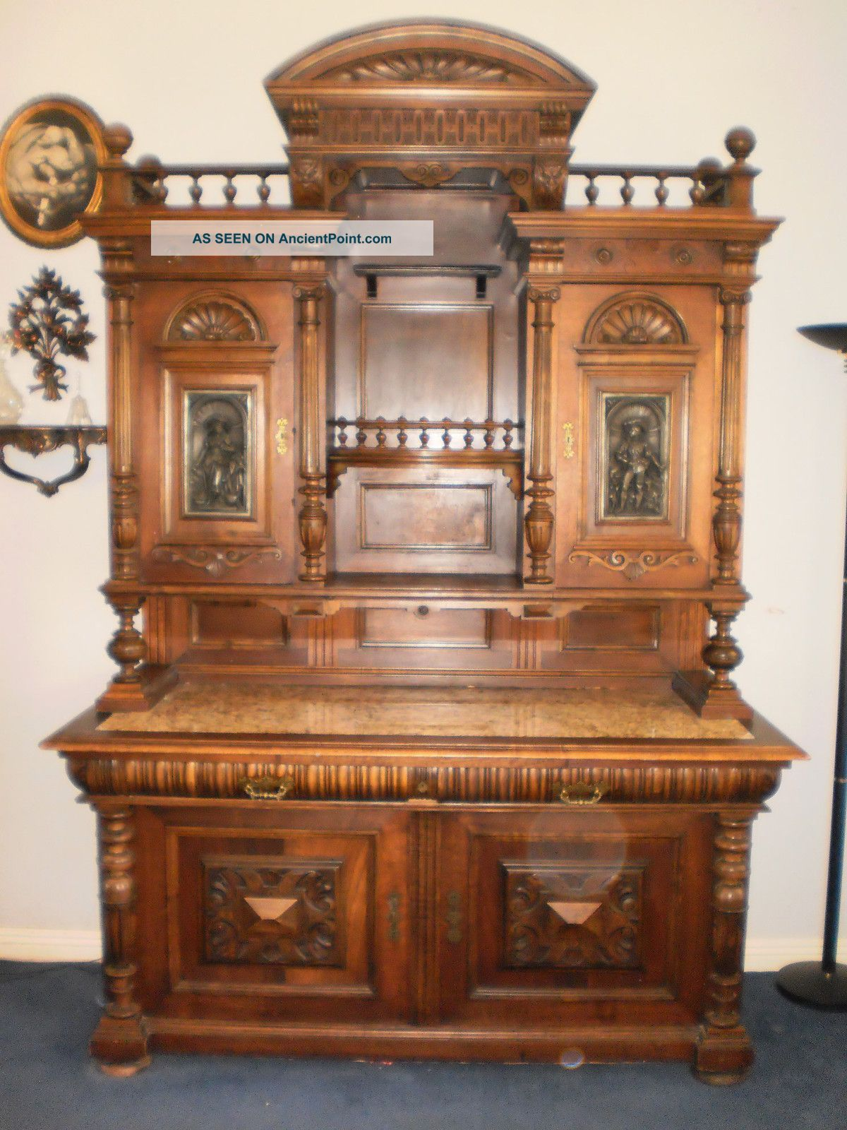Rare 1840s Austrian Sideboard 1800-1899 photo