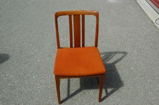 Vintage Mid Century Danish Modern Style Chair Set Of 4 photo