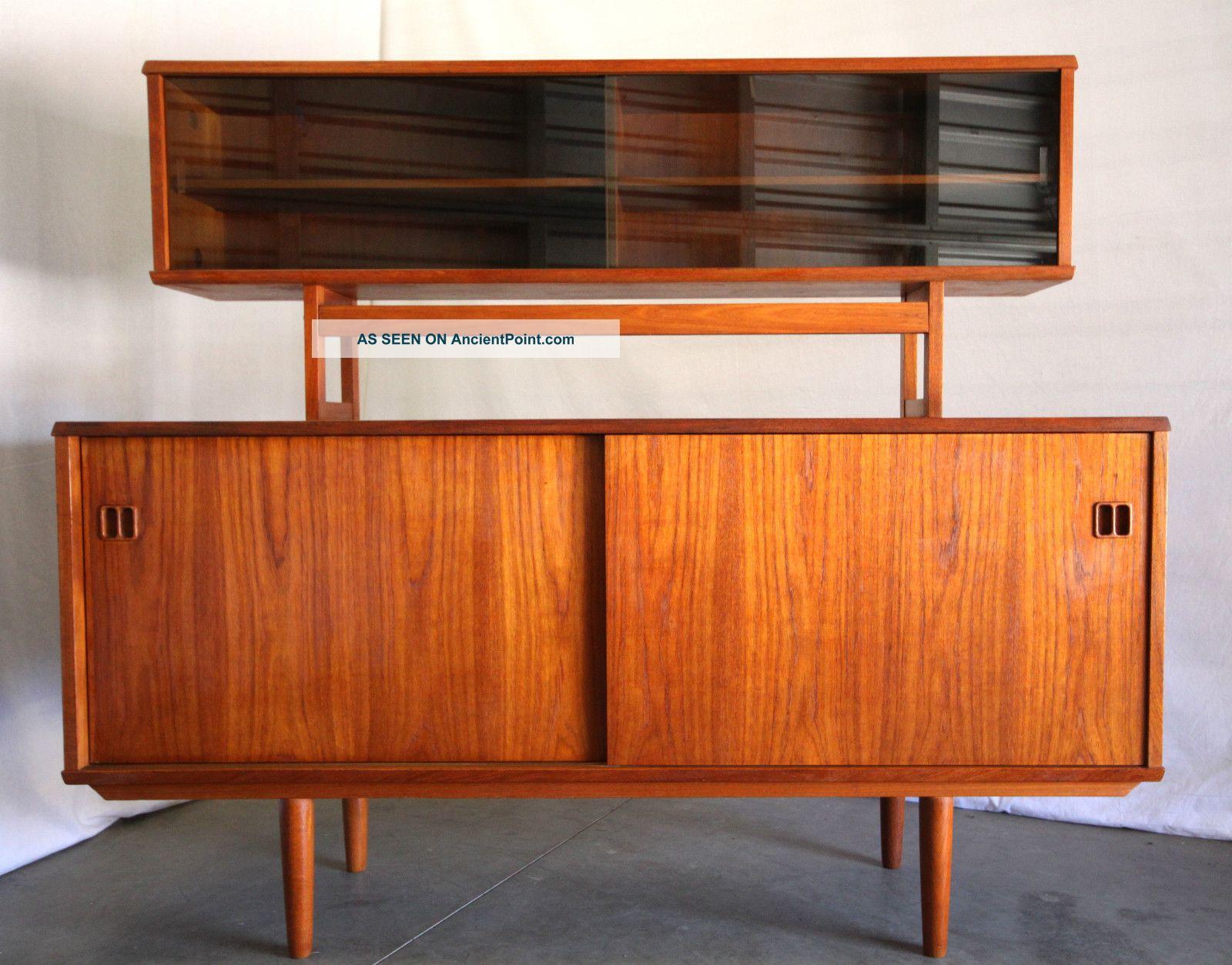 1960s Danish Credenza : Teak sideboard er lowboard midcentury kommode s danish modern