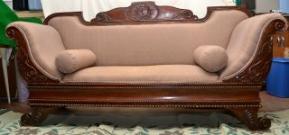 Cleopatra Gothic/old West/victorian Sofa photo