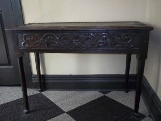 18th C.  Antique English Table Collectors Piece 1710 - 1730 photo