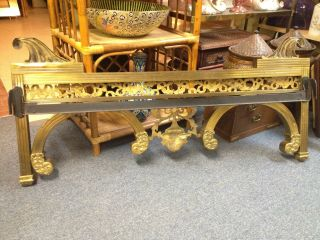 19th Century Ornate Antique Brass Bed Excellent L@@k photo