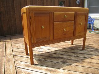 Antique Buffet Cabinet - Art Deco Details photo