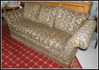 Fine Designer Baker Furniture Company Sofa W Brunschwig & Fils Lion Upholstery photo