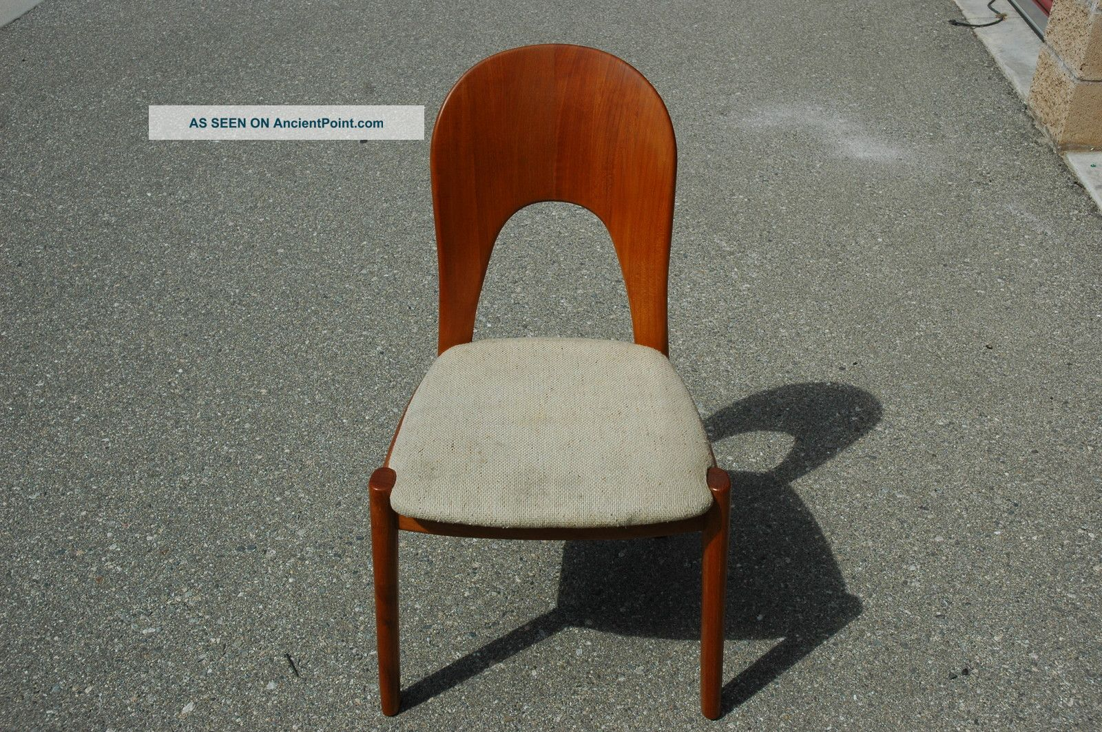 Vintage Mid Century Danish Modern Koefoeds Hornslet Chair Post-1950 photo