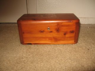 Cedar Chest Made In Port Arthur,  Tx photo