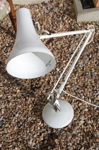 Vintage Anglepoise Lamp Model 90 By Herbert Terry,  Retro Modernist Lamp,  Pixar photo