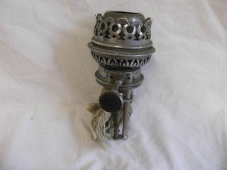 Vintage Chrome Lampe Veritas Oil Lamp Burner photo