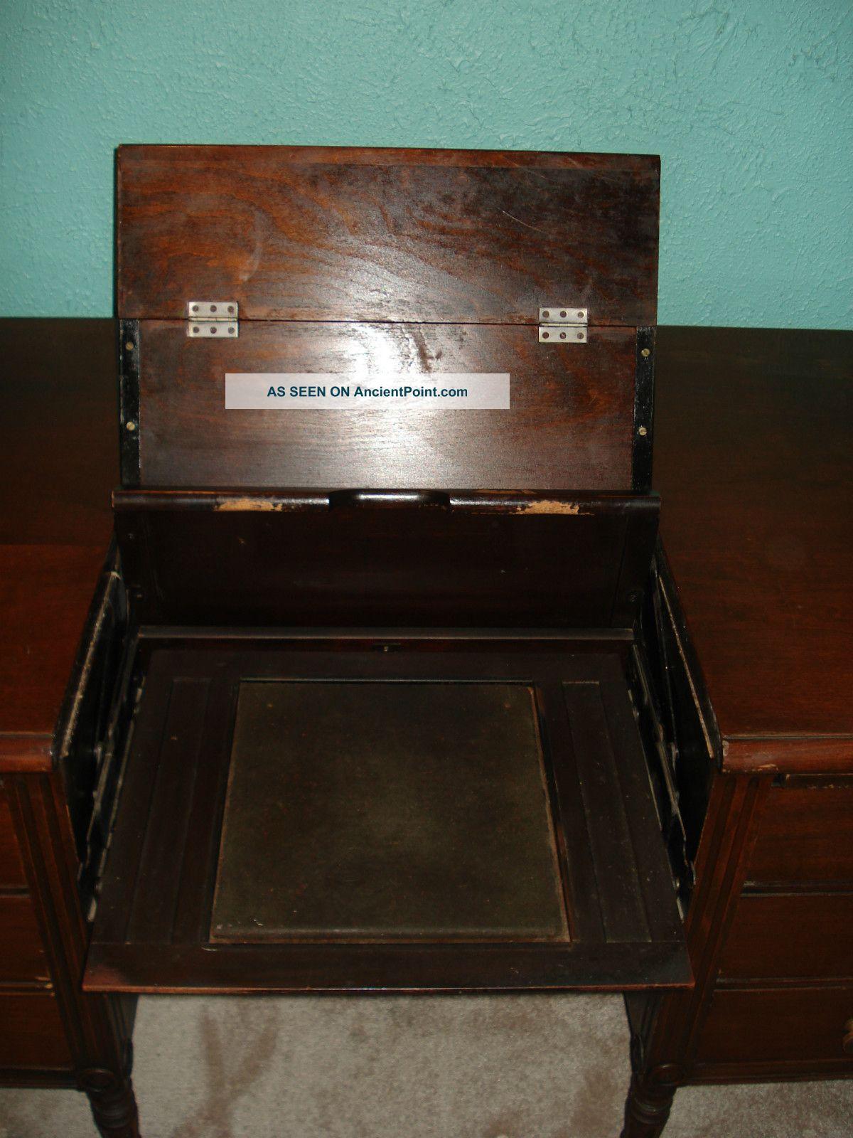 Pleasing Macey Oak Antique Vintage Secretary Wood Typewriter Download Free Architecture Designs Embacsunscenecom