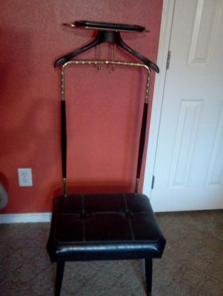 Vintage Butler/valet Chair photo