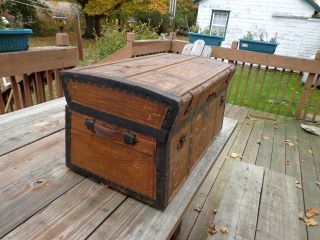 Antique Trunk photo