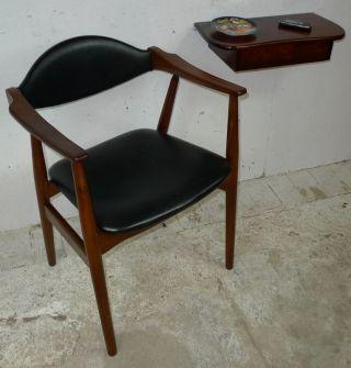 Modern Danish Design - Teak Armchair - Panton Era photo