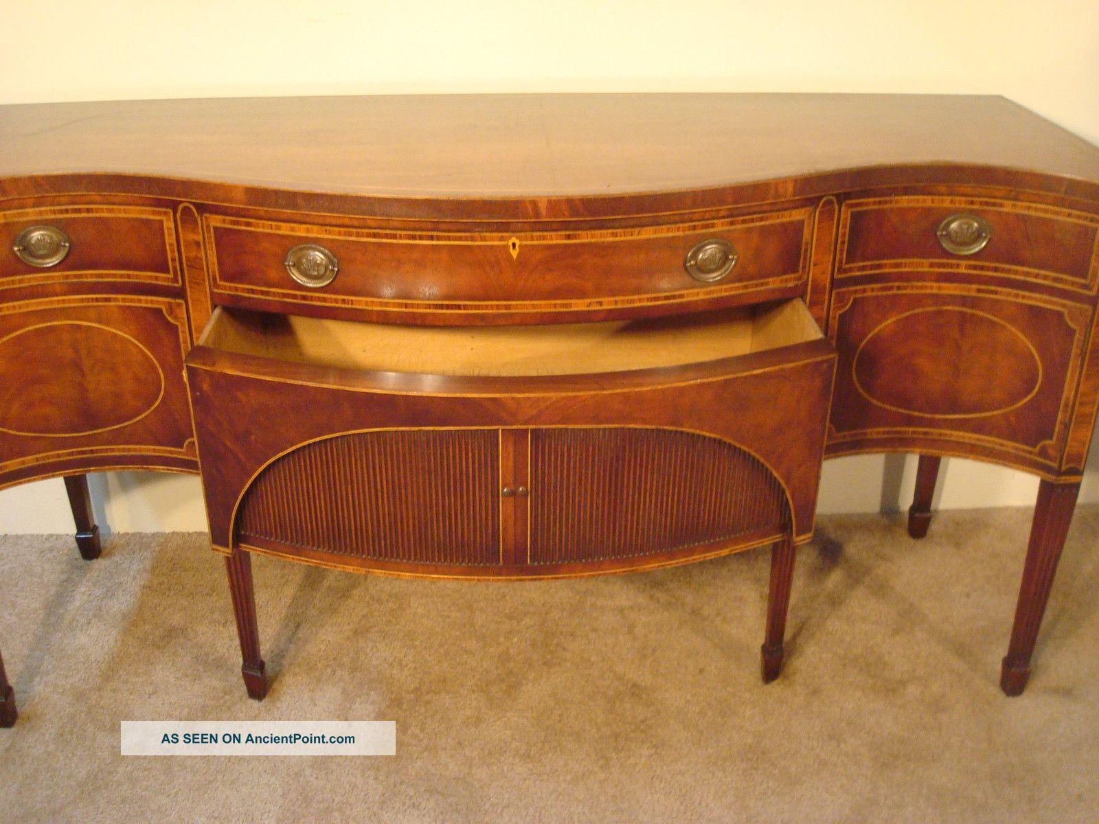 1940 furniture mahogany antique set sheraton style furniture 73714