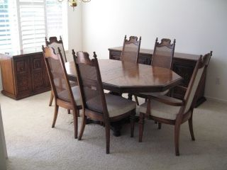 3 Piece Dining Room Set By American Of Martinsville   Pristine Cond   $1575  Photo