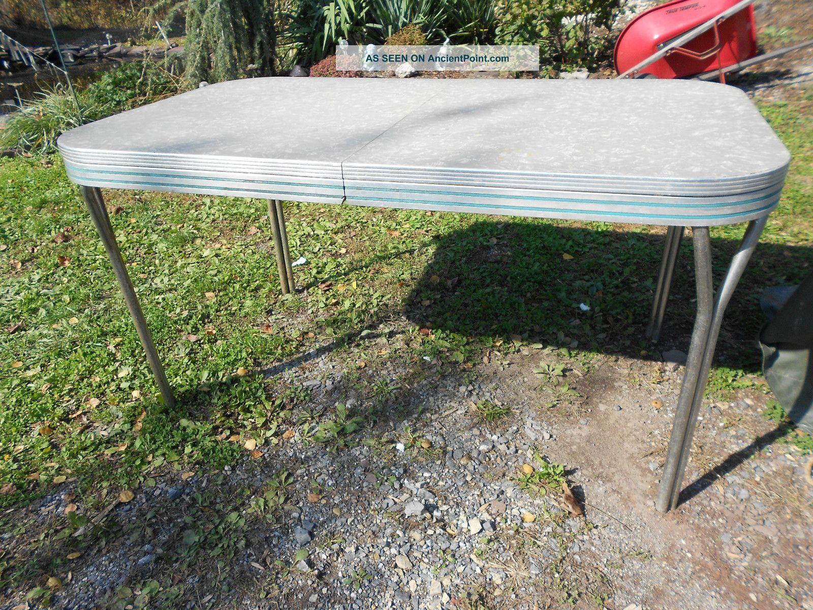 vintage formica kitchen table vintage midcentury modern1950s