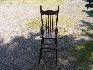 Antique Baby Chair photo