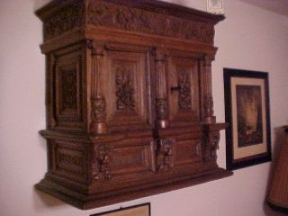 Antique Early Baroque Cabinet 1604 photo