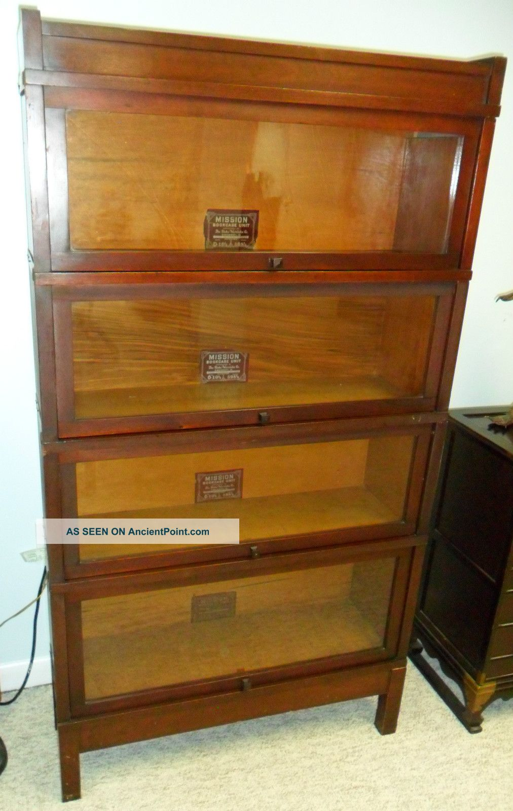Image Result For Mahogany Bookcase