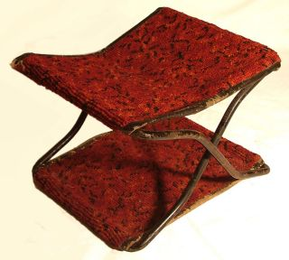 Very Rare Antique Folding Buggy Seat (1895) (possibly Amish) photo