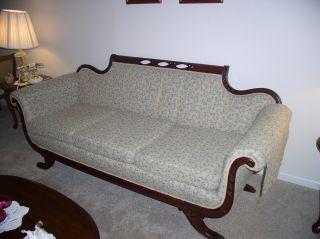 Victorian Sofa In photo
