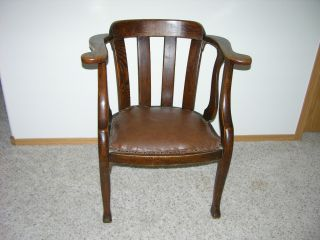 Antique Office Side Chair - Local Pick Up Only photo