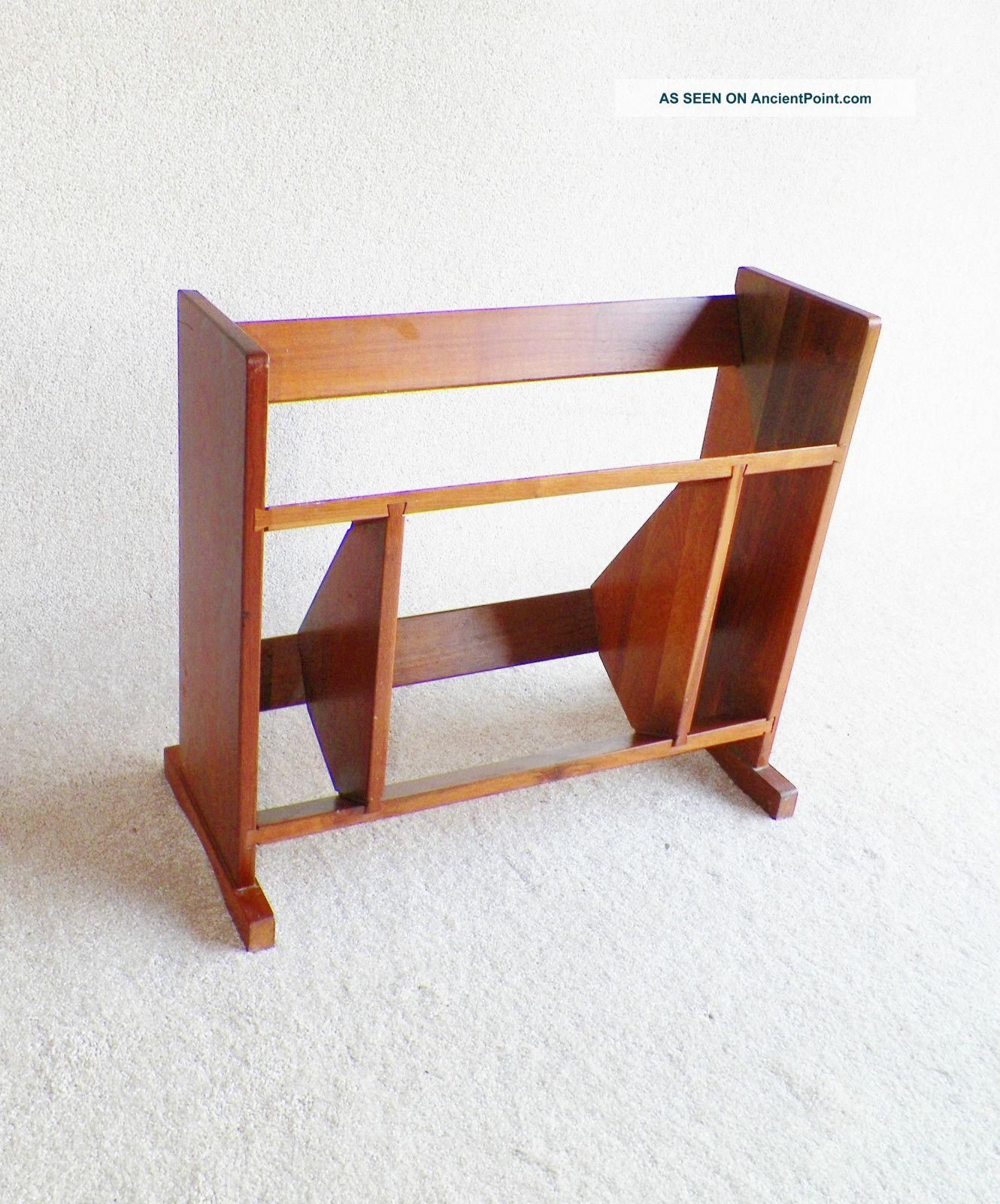 Image of: Danish Modern Mid Century Modern Walnut Bookcase Eames Mccobb Era