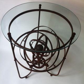 Iron Orerry Garden Table photo