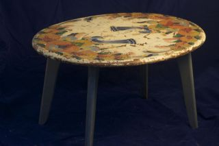 Coffee Or End Table By American Decorative Artist Peter Hunt photo