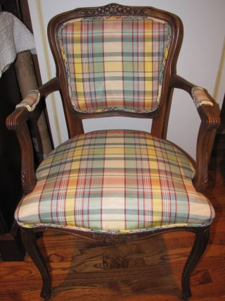 Vintage French Arm Chair photo